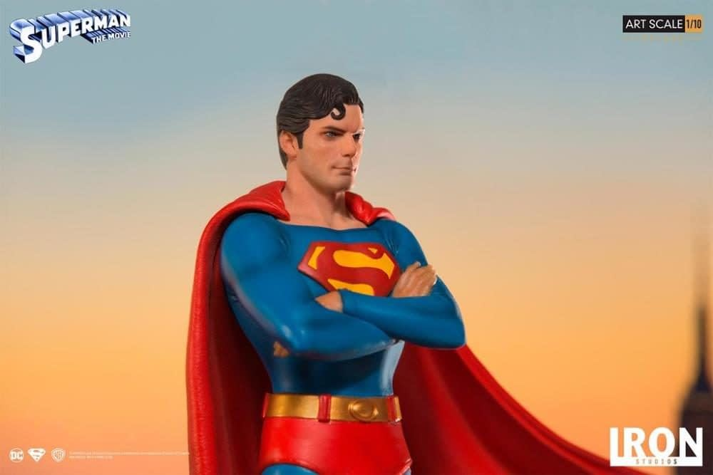 Iron Studios Creates One of the Best Superman Statues of All-Time