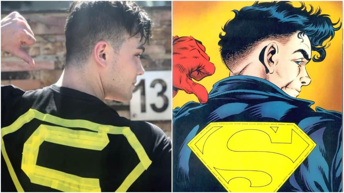 """'Titans': Conner Kent/Superboy Joshua Orpin Strikes a Pose, Has No Time for """"Fakes"""""""