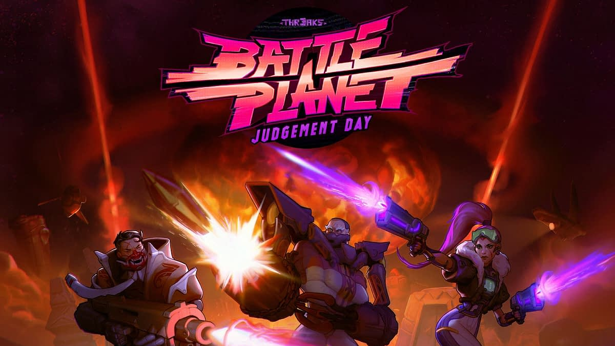 "Composer Garry Schyman To Score ""Battle Planet - Judgement Day"""