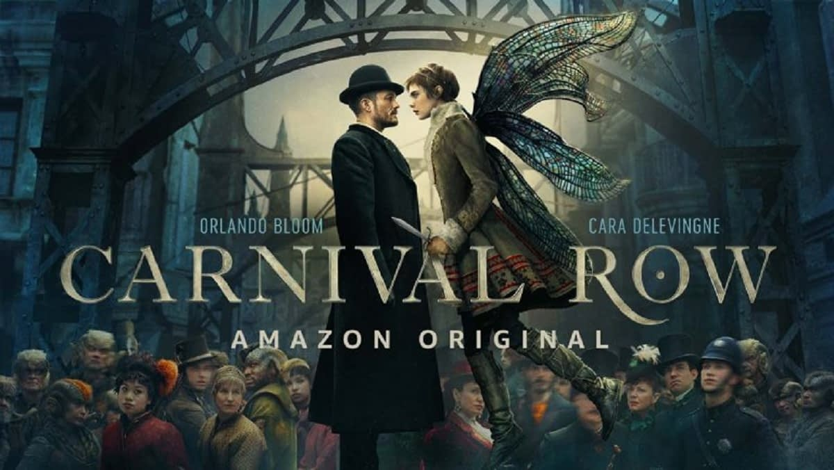 'Carnival Row': Amazon's Orlando Bloom/Cara Delevingne Fantasy Series Gets First Teaser, Poster, August Premiere