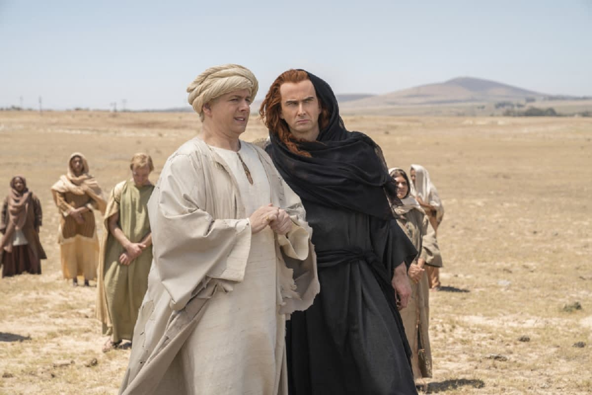 'Good Omens': Costume and Set Designers Discuss that Long Cold Open