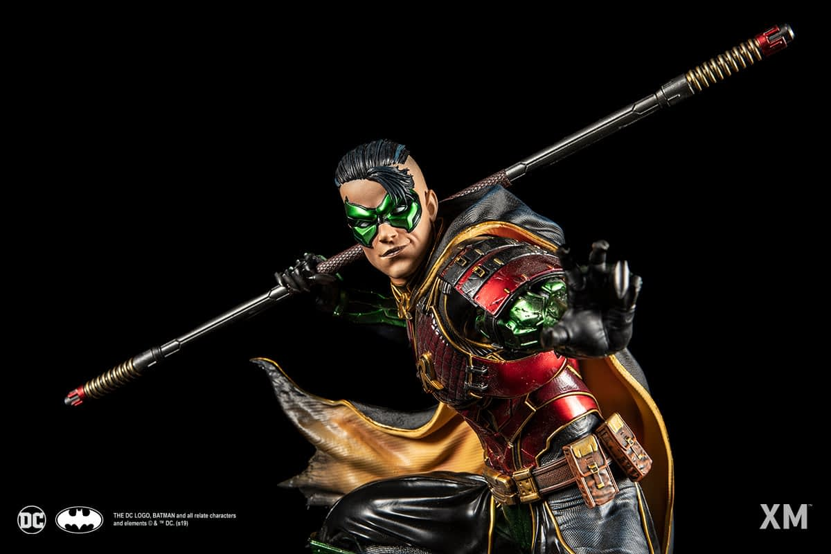 Robin Becomes a Samurai with New XM Studios Statue
