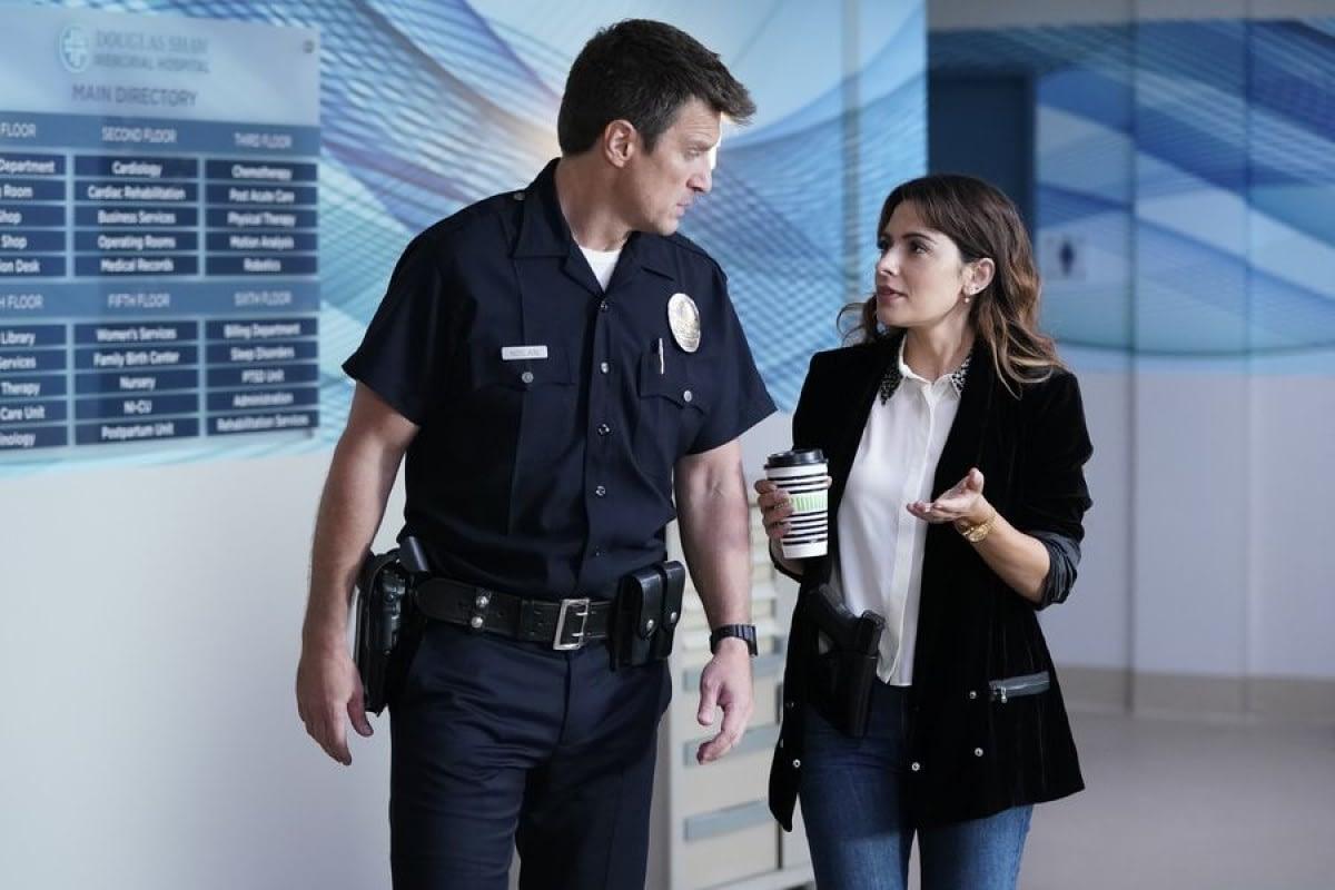 "Alyssa Diaz Hot the rookie"" season 2 episode 2 preview - nolan is gonna be"