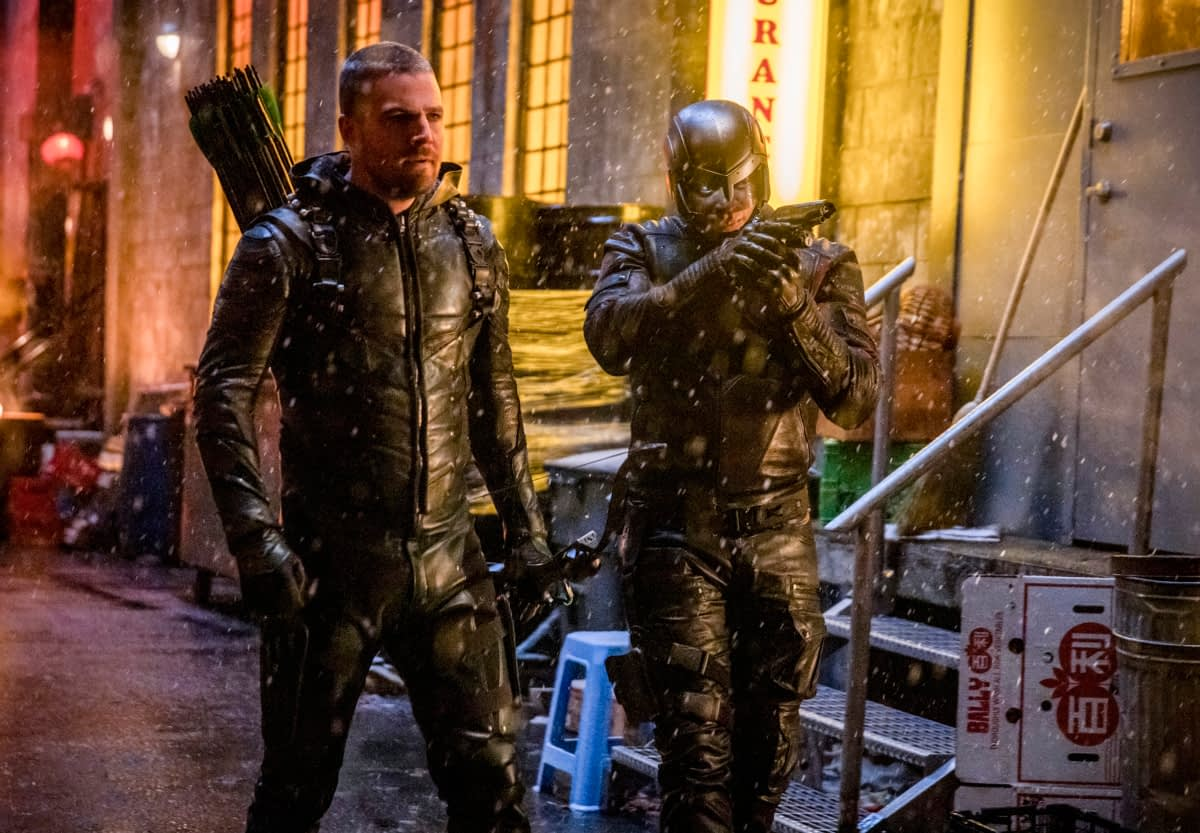 "'Arrow' Season 7, Episode 19 ""Spartan"" [PREVIEW]"