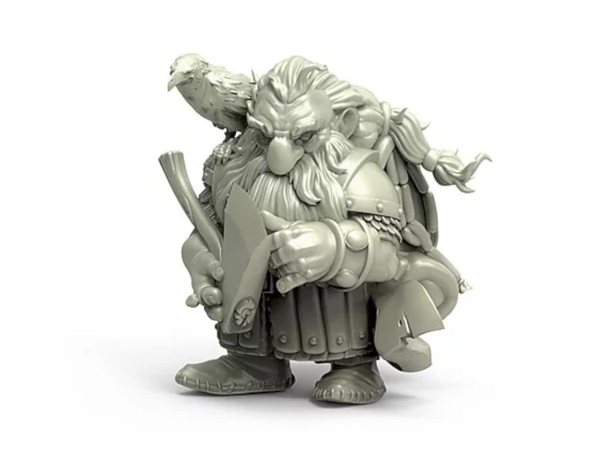 Durgin Paint Forge: Classic Fantasy Minis with a Twist (Mini Spotlight)