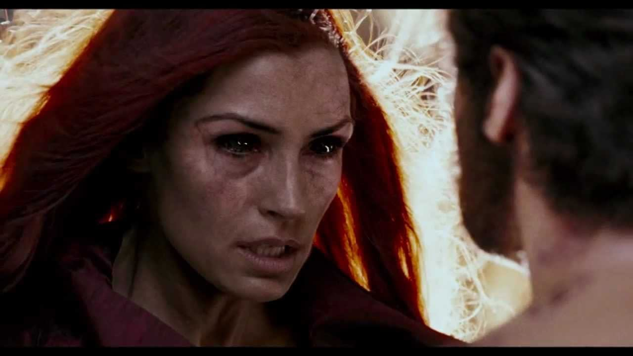 Famke Janssen as Jean Grey in X-Men: The Last Stand