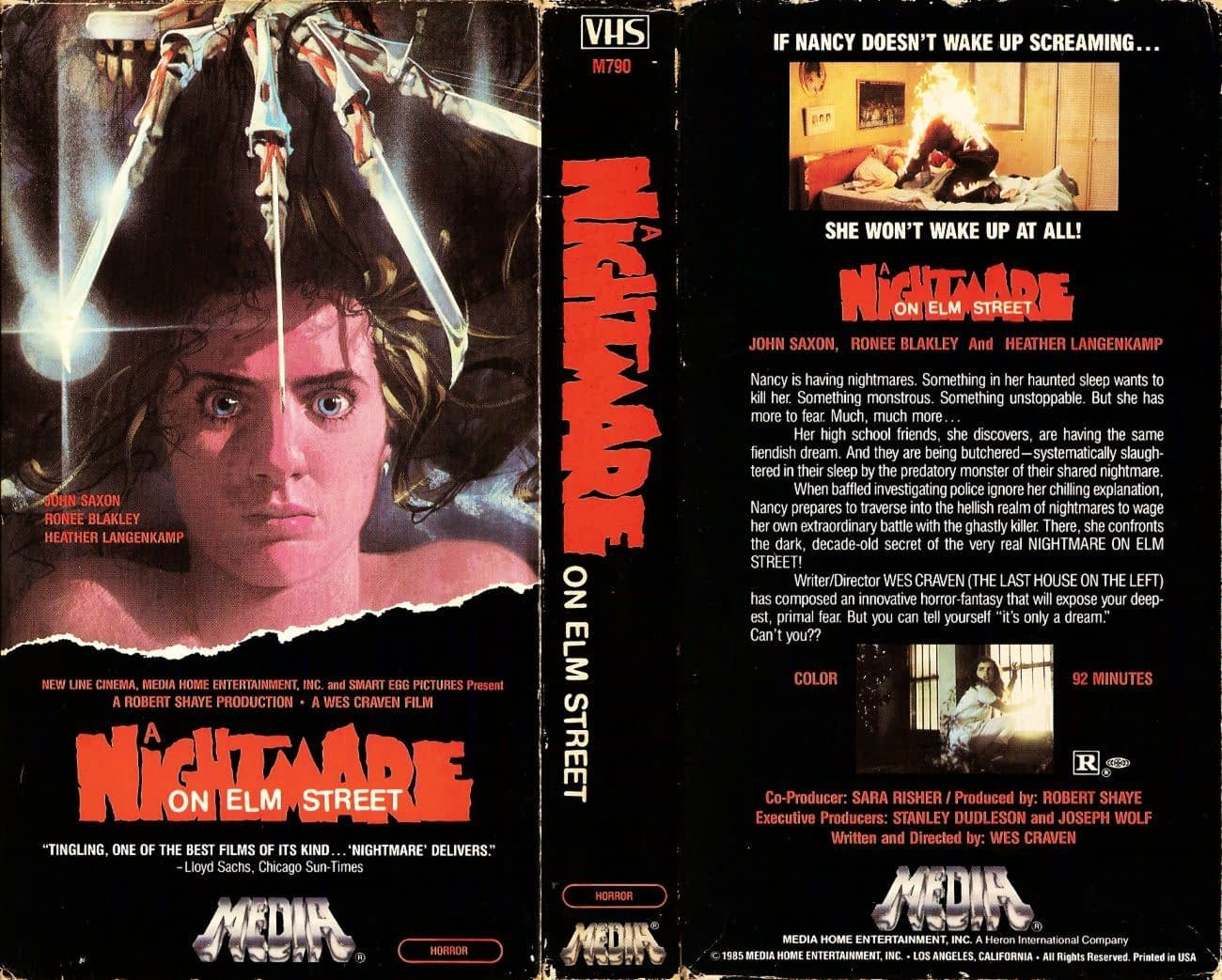 NIghtmare on Elm Street VHS