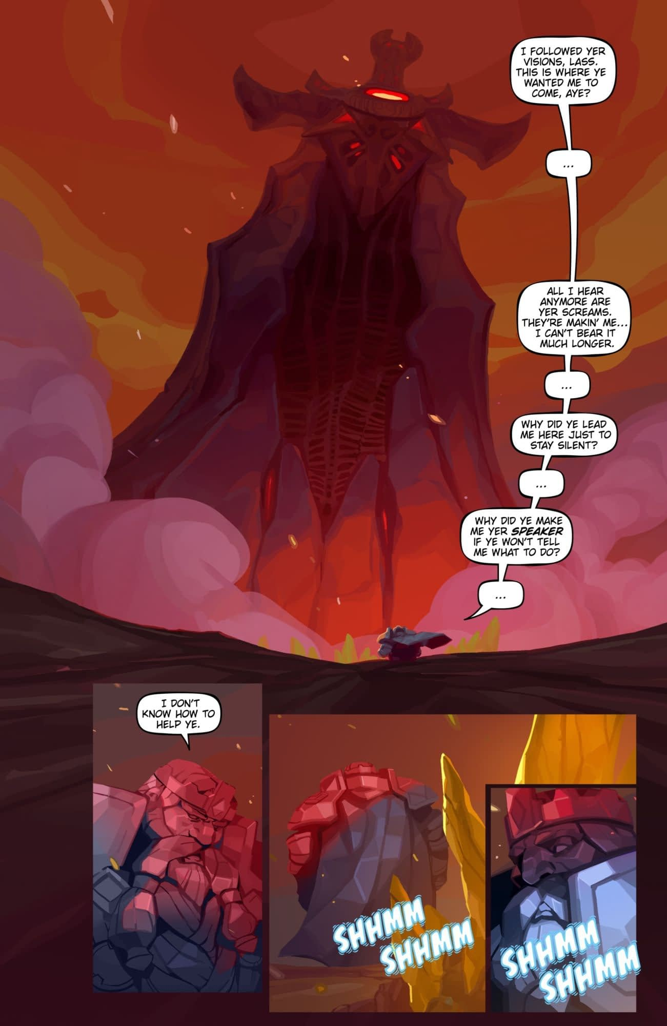 Blizzard Reveals First Pages from the World of Warcraft Comic