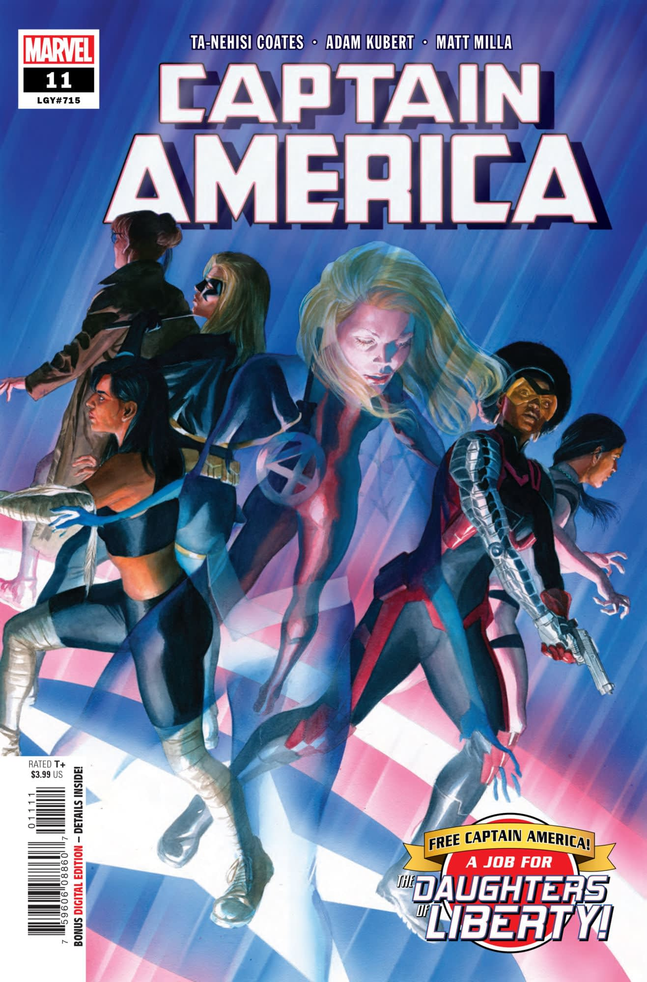Captain America Leads an Army of Villains on a Prison Break in Captain America #11