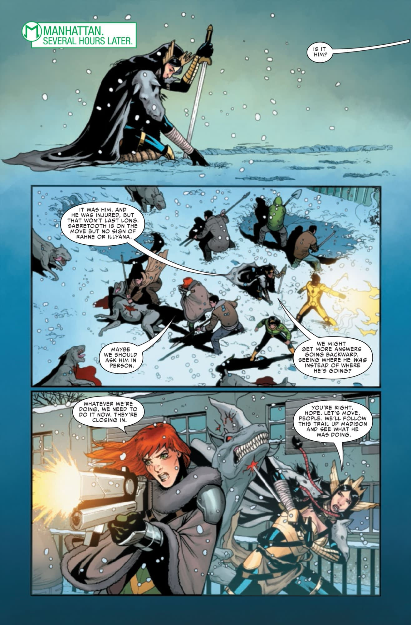 Sabretooth Gets a Raw Deal in War of the Realms: Uncanny X-Men #3 (Preview)