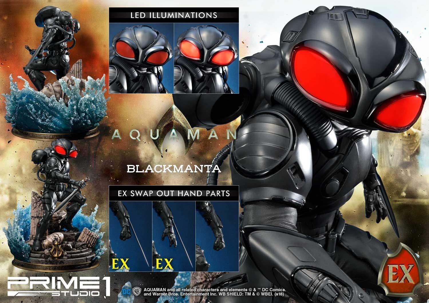 Aquaman Black Manta Prime 1 Studio Statue 3