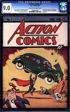 Action Comics 1 (CGC 9.0)