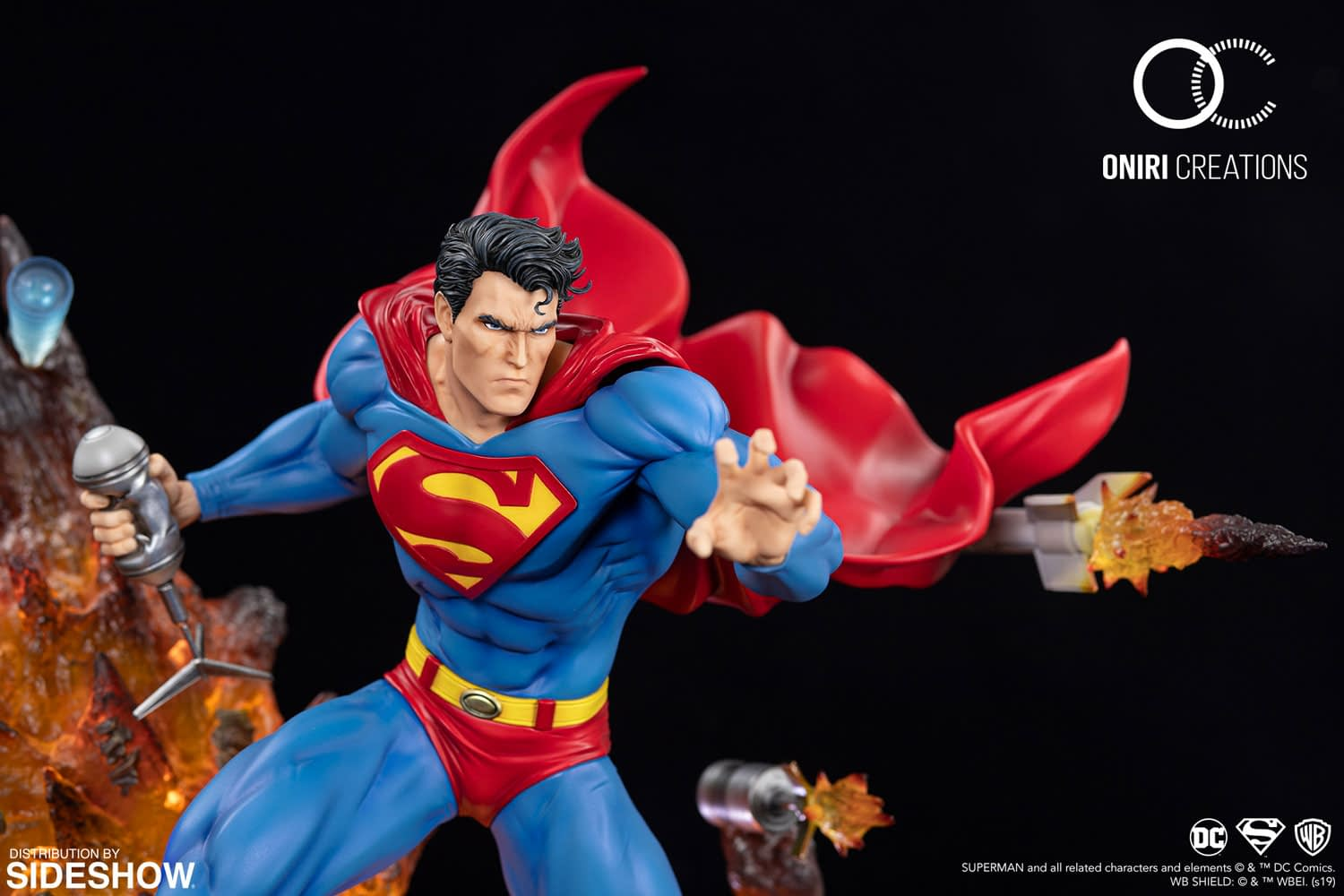 Superman Jim Lee Cover Gets Full Statue Remaster from Oniri Creations