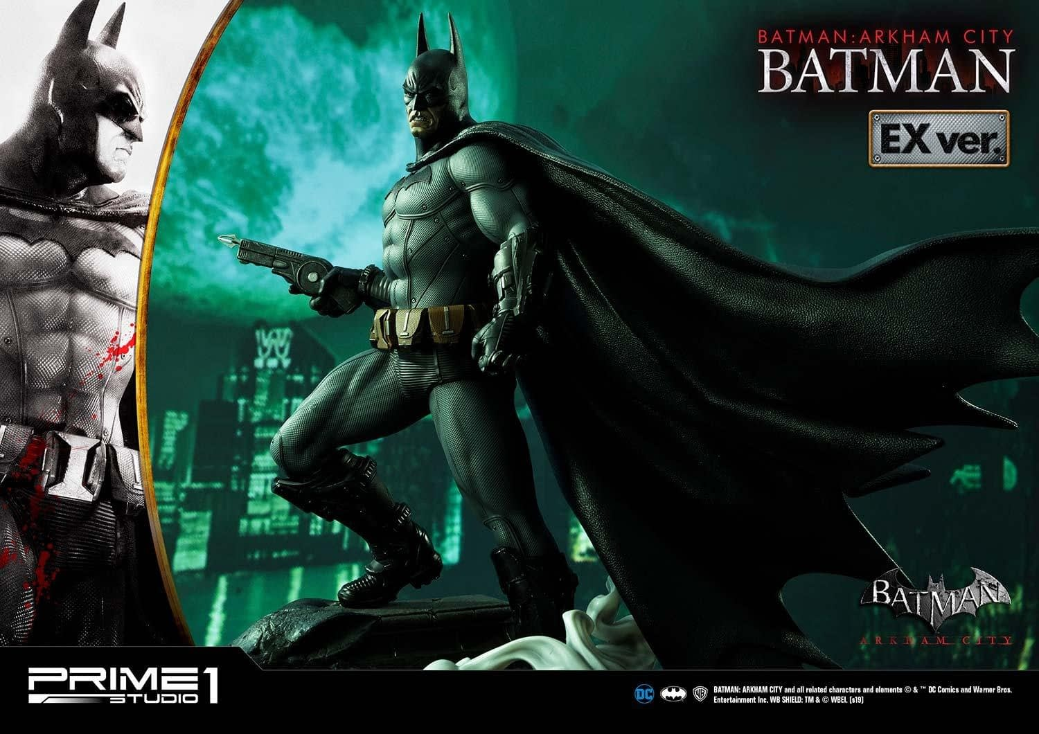 "Prime 1 Studios Celebrates 10th Anniversary with ""Batman: Arkham City"" Statue"