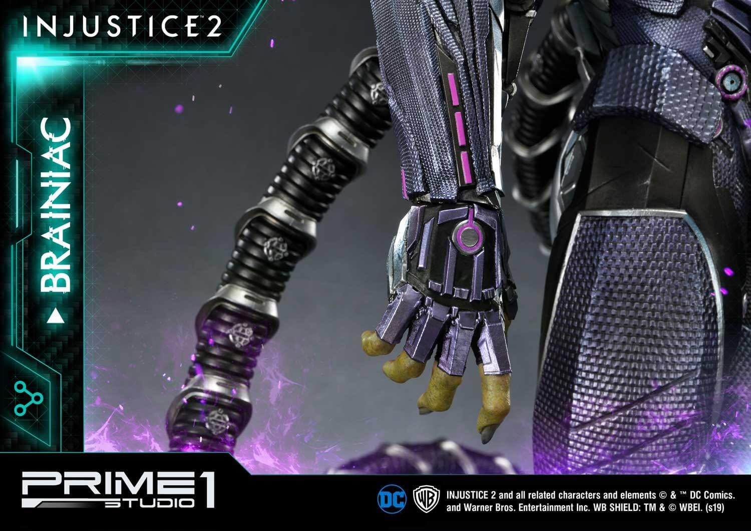 Brainiac Is Here for Superman in the New Prime 1 Studio Statue