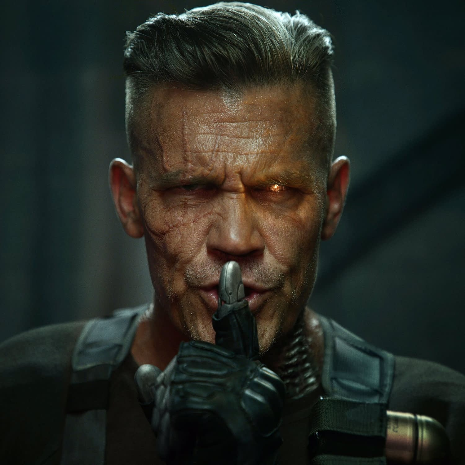 Deadpool 2: Josh Brolin's Cable Doesn't Look Happy In New Image