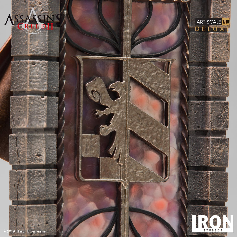 Ezio Takes His Leap of Faith with New Iron Studios Statue