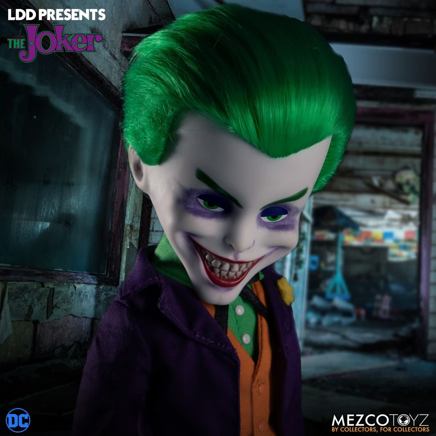 Joker Makes His Arrival in Gotham with New LDD from Mezco