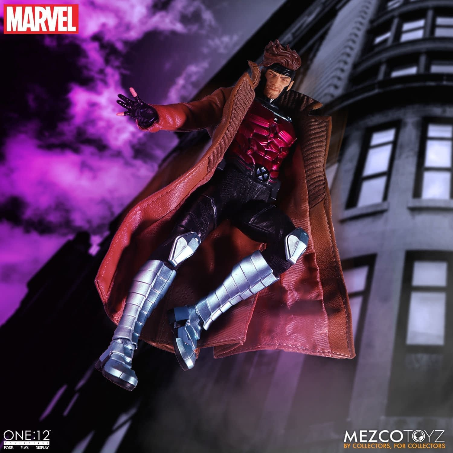 Gambit Shows His Royal Flush in New One:12 Mezco Figure