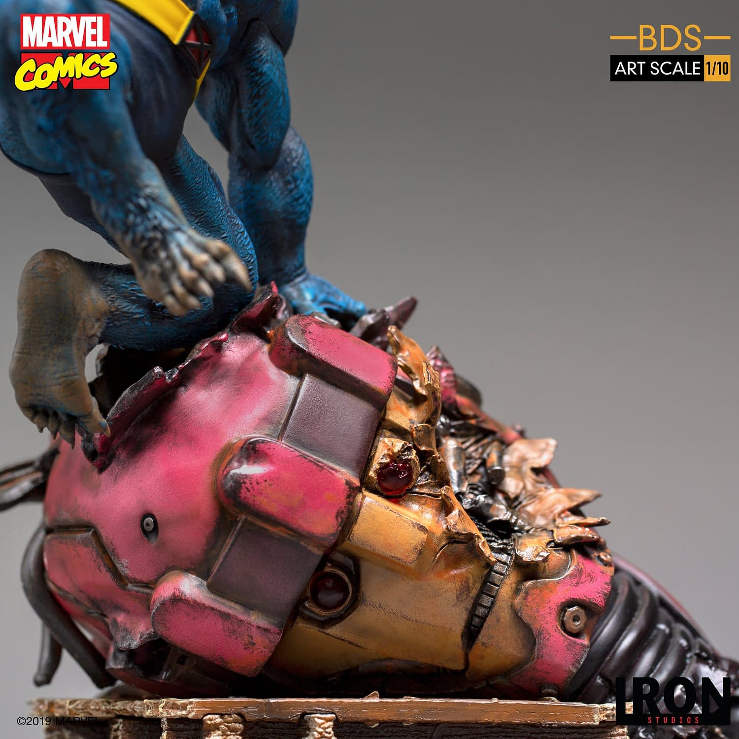 X-Men's Beast Holds His Own in Single Release Statue from Iron Studios