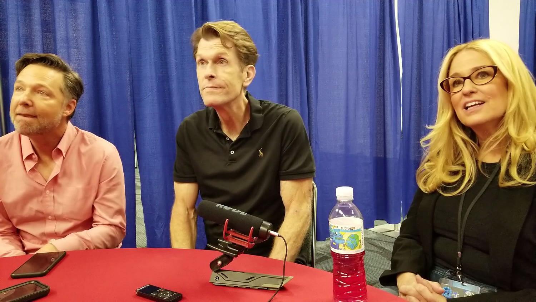 'Justice League Vs The Fatal Five' Conroy, Eisenberg, & Newberg Interview (VIDEO