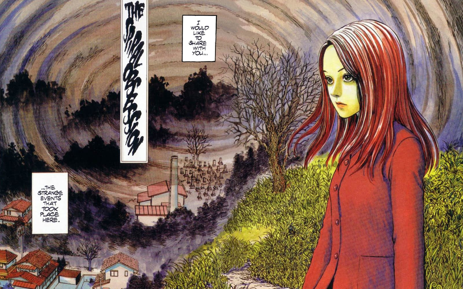 """Uzumaki"": Junji Ito'a Horror Manga Getting a 4-Part Anime Miniseries [Trailer]"