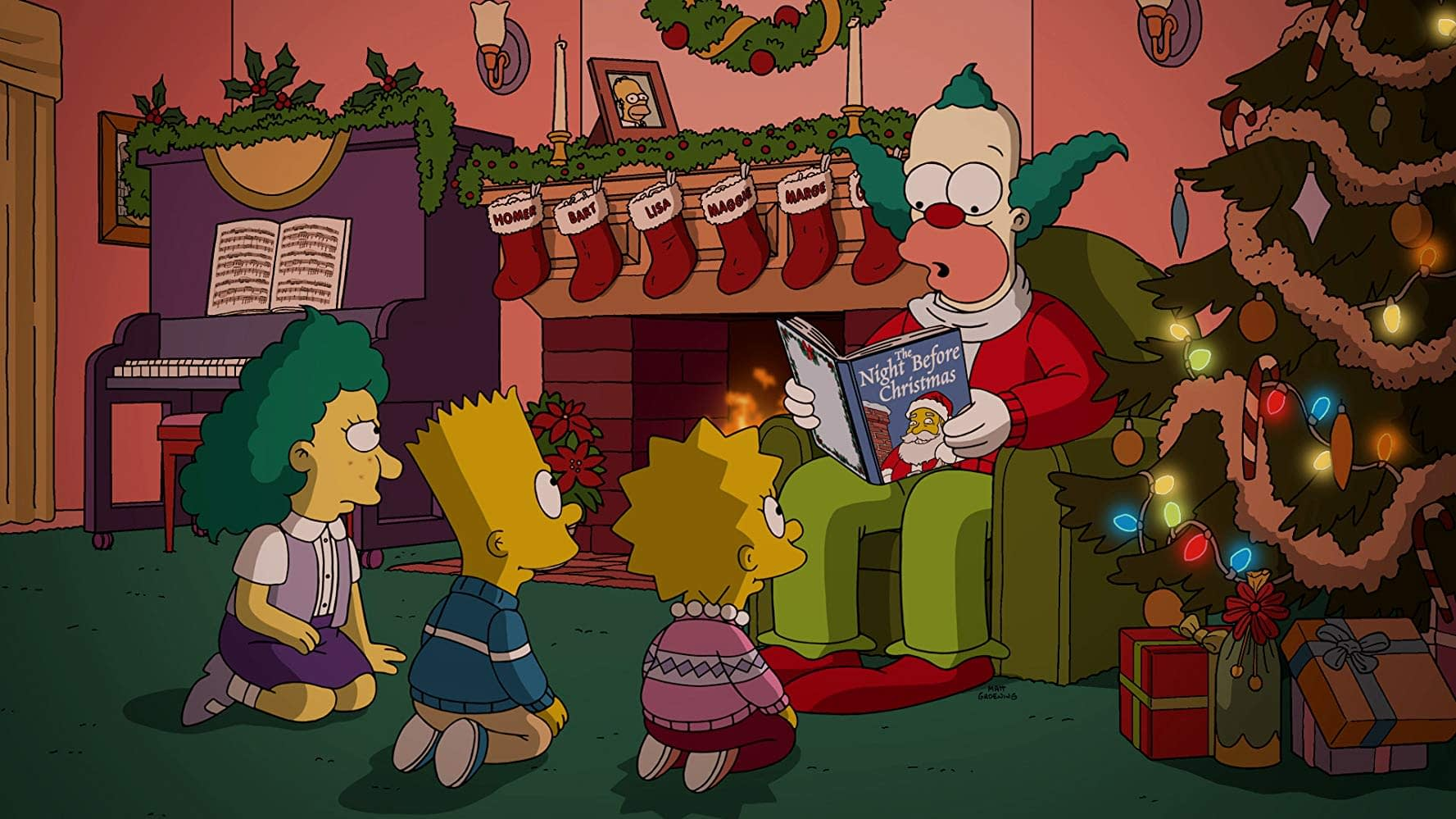 Simpsons Christmas Episodes.D Oh D Oh D Oh 16 Simpsons Christmas Episodes From