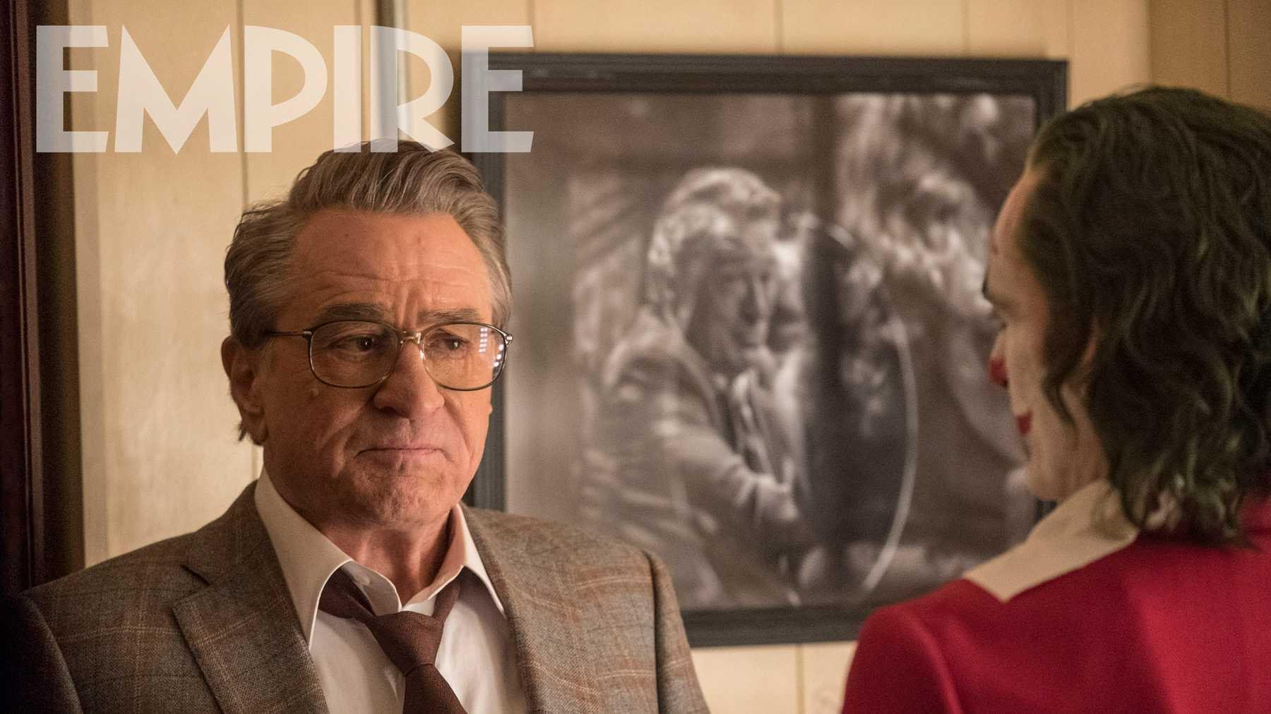 "Robert De Niro Loved the Script for ""Joker"" Plus a New Image"