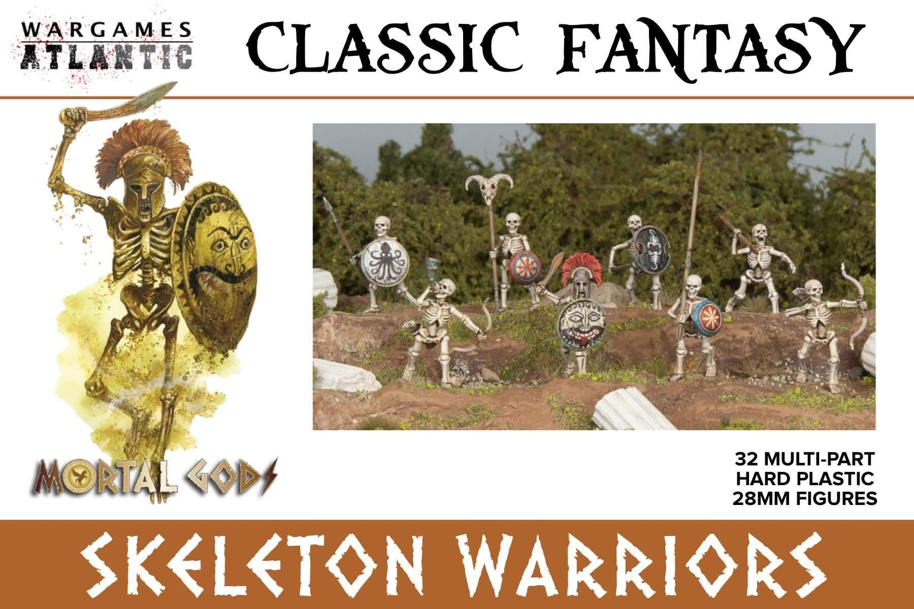 Check Out Wargames Atlantic's Awesome Skeleton Infantry Minis!