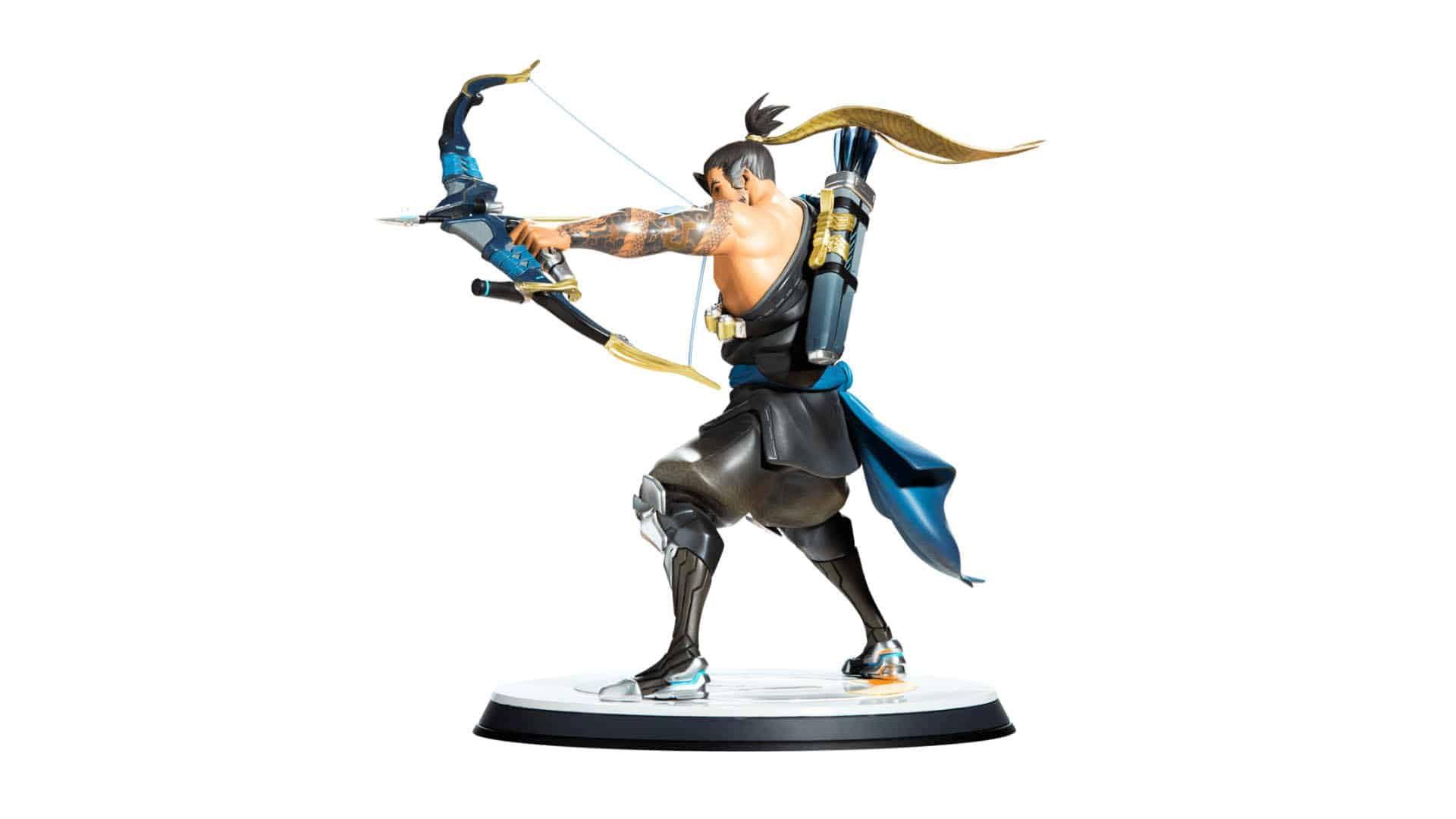 Blizzard Overwatch Hanzo Statue 7