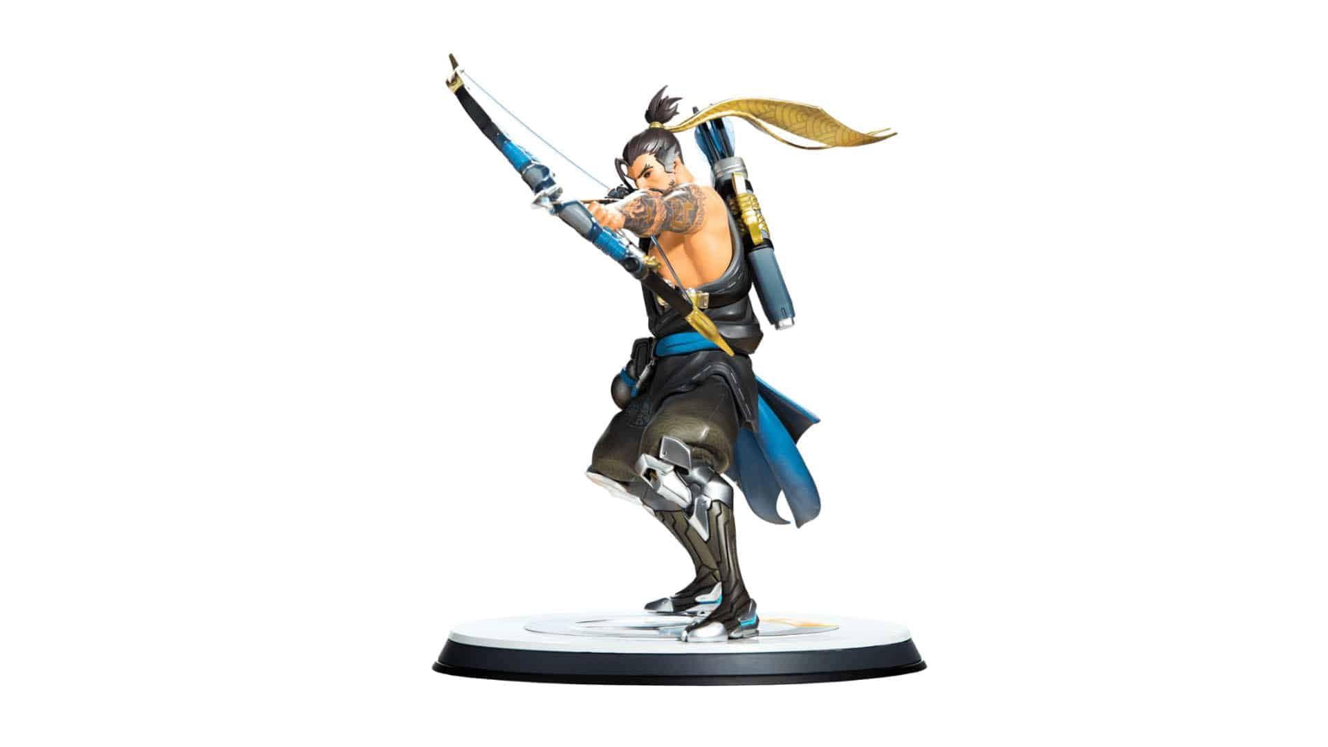 Blizzard Overwatch Hanzo Statue 8