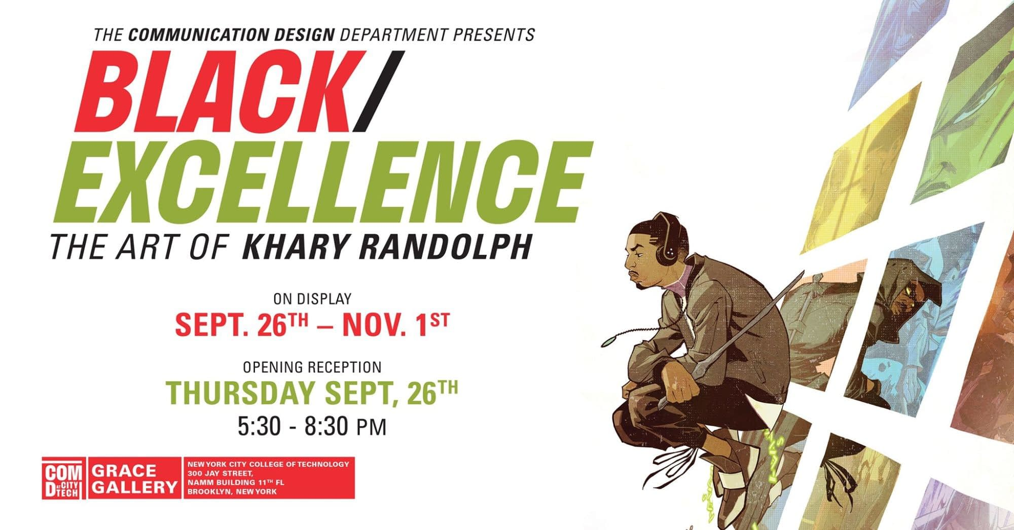 Getting to Know Black / Excellence with Khary Randolph