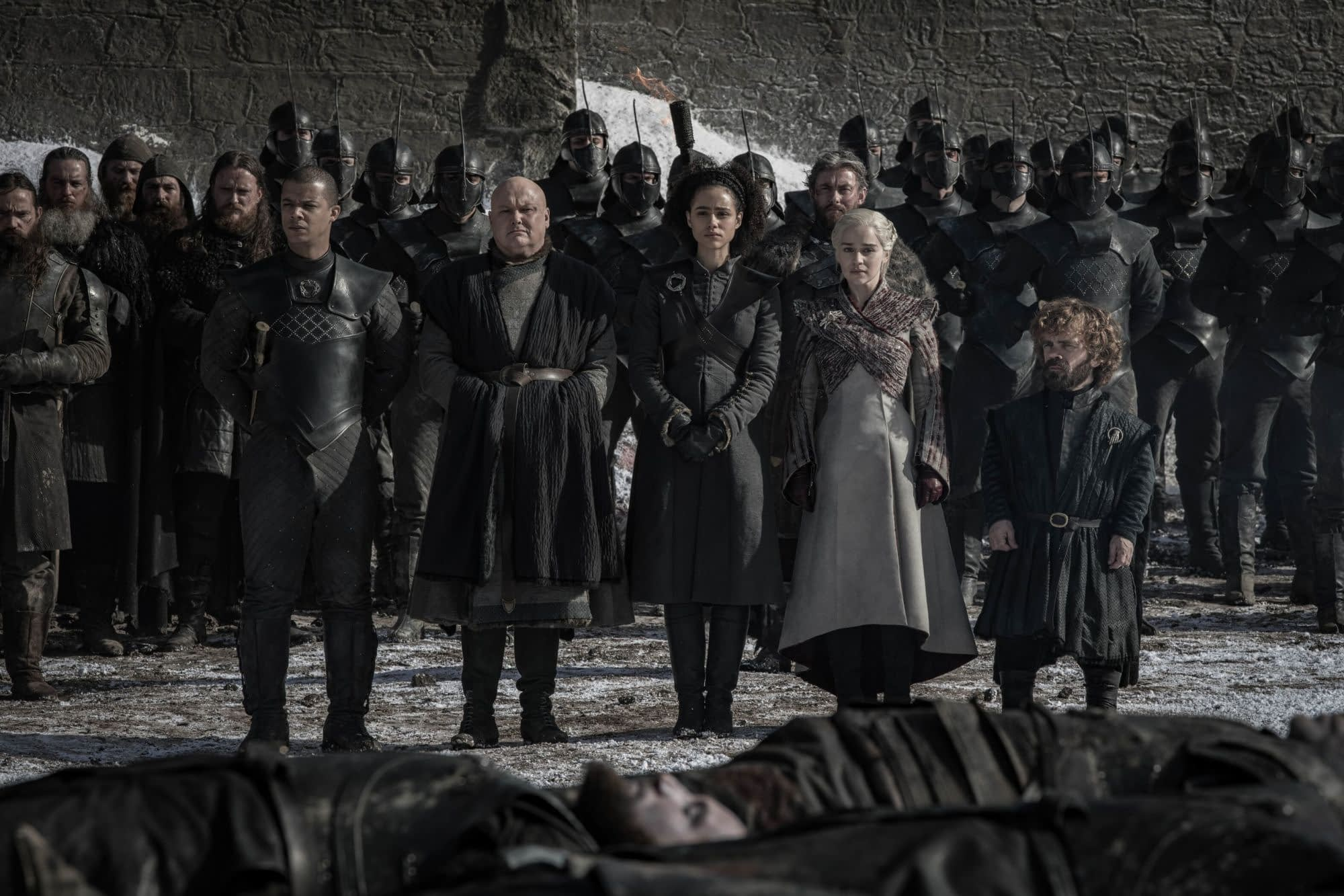 "4 Images from 'Game of Thrones' s8e4, The Aftermath of ""The Long Night"""