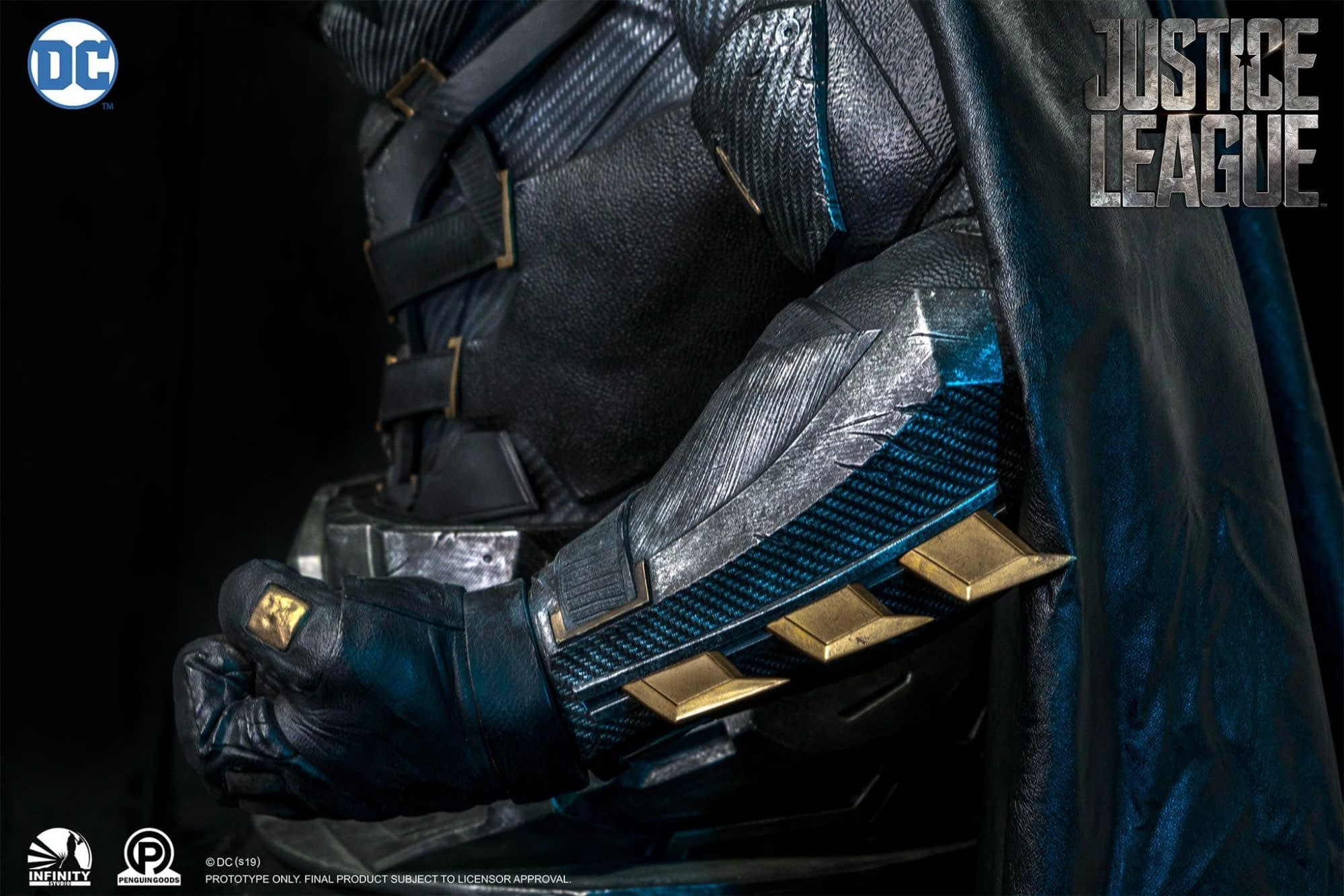 Batman Gets a Life-Size Bust for His Tactical Suit from Infinity Studio