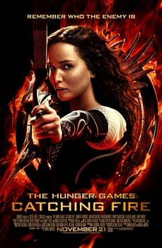 hunger games catching fire full size poster
