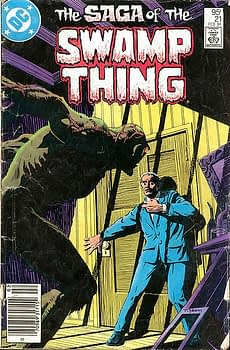 The Saga of the Swamp Thing #21