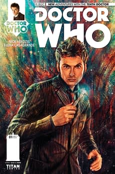 THE TENTH DOCTOR #1 - REGULAR (LINKED) COVER