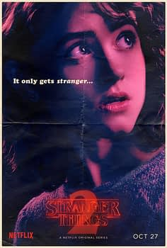stranger things season 2 posters
