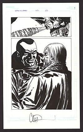Comic Connect Walking Dead Art Page Auction 103