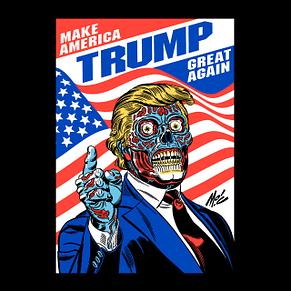 Trump: Make America Great Again, Mitch Connell