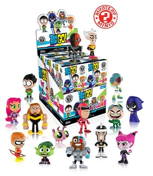 Funko Teen Titans GO! Mystery minis Walmart