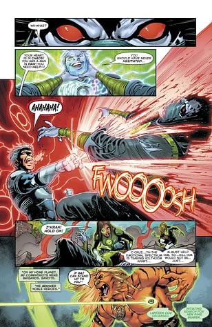Interior art from Green Lanterns #31 by Ronan Cliquet