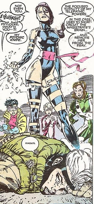 Psylocke - The Focused Totality Of Her Psychic Powers, No More