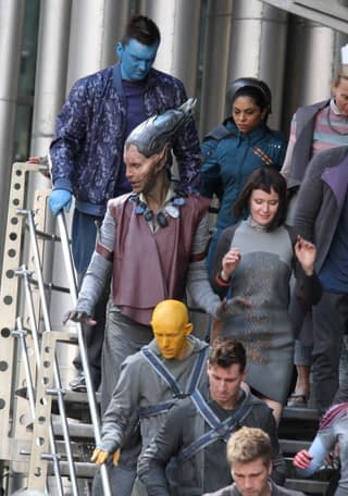 """""""Guardians of the Galaxy"""" Sightings in London - August 11, 2013"""