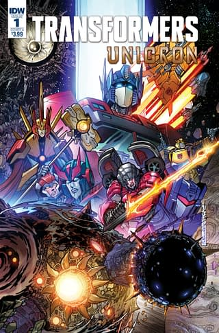 Unicron Returns to Transformers: IDW Publishing July 2018