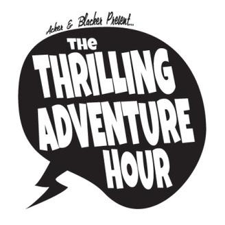 The Thrilling Adventure Hour Logo