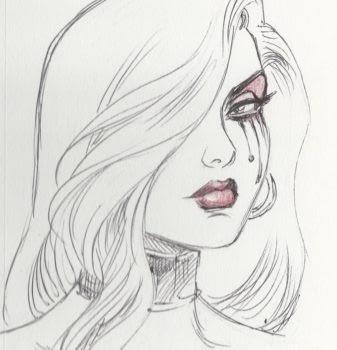 Joseph Michael Linsner sketch