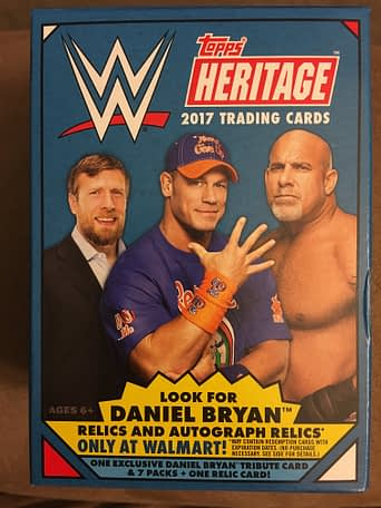 Topps 2017 WWE Heritage Cards 1