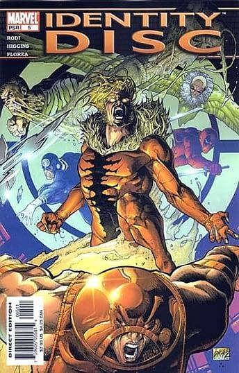 Identity Disc #5, Marvel