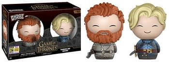 SDCC Funko Game of Thrones Tormund a Brienne Dorbz two Pack